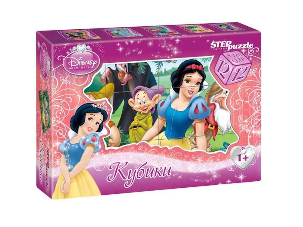 12 кубиков «Белоснежка»Настольные развивающие игры<br>С помощью кубиков Step Puzzle Белоснежка ребенок сможет собрать целых шесть красочных картинок с любимой принцессой Диснея.<br> Наборы из 12 кубиков - для тех, кто освоил навык сборки картинки из 9 кубиков. Заложенный дидактический принцип От простого к ...<br><br>Артикул: 87154<br>Размер упаковки: 16x12x4 см<br>Возраст: от 3 лет<br>Время игры: 10-30 мин.<br>Количество игроков: 1+<br>Аудитория: Детские