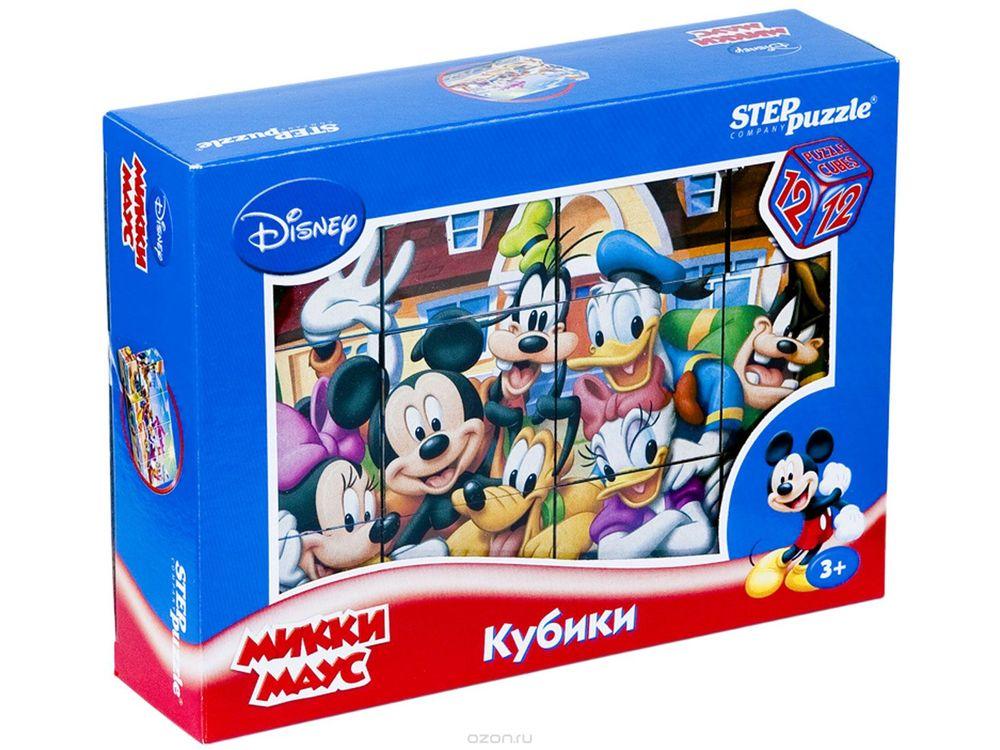 12 кубиков «Микки Маус»Настольные развивающие игры<br>С помощью кубиков Step Puzzle Микки Маус ребенок сможет собрать целых шесть красочных картинок с любимыми героями мультсериала о Микки Маусе и его друзьях. Наборы из 12 кубиков - для тех, кто освоил навык сборки картинки из 9 кубиков. Заложенный дидакти...<br><br>Артикул: 87157<br>Размер упаковки: 16x12x4 см<br>Возраст: от 3 лет<br>Время игры: 10-30 мин.<br>Количество игроков: 1+<br>Аудитория: Детские