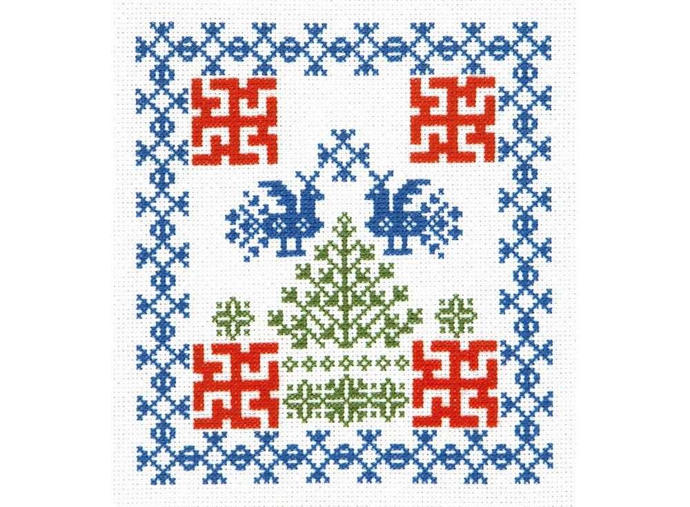 Набор для вышивания «Здоровье и долголетие»Вышивка крестом Чудесная игла<br><br><br>Артикул: 88-01<br>Основа: канва Aida 14 (хлопок)<br>Размер: 17x18 см<br>Техника вышивки: счетный крест<br>Тип схемы вышивки: Цветная схема<br>Цвет канвы: Белый<br>Количество цветов: 3<br>Заполнение: Частичное<br>Игла: №24<br>Рисунок на канве: не нанесён<br>Техника: Вышивка крестом<br>Нитки: Мулине Чудесная игла