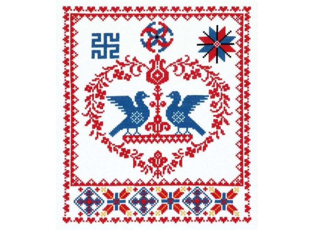 Набор для вышивания «Счастливая семья»Вышивка крестом Чудесная игла<br><br><br>Артикул: 88-04<br>Основа: канва Aida 14 (хлопок)<br>Размер: 23x28 см<br>Техника вышивки: счетный крест<br>Тип схемы вышивки: Цветная схема<br>Цвет канвы: Белый<br>Количество цветов: 4<br>Заполнение: Частичное<br>Игла: №24<br>Рисунок на канве: не нанесён<br>Техника: Вышивка крестом<br>Нитки: Мулине Чудесная игла
