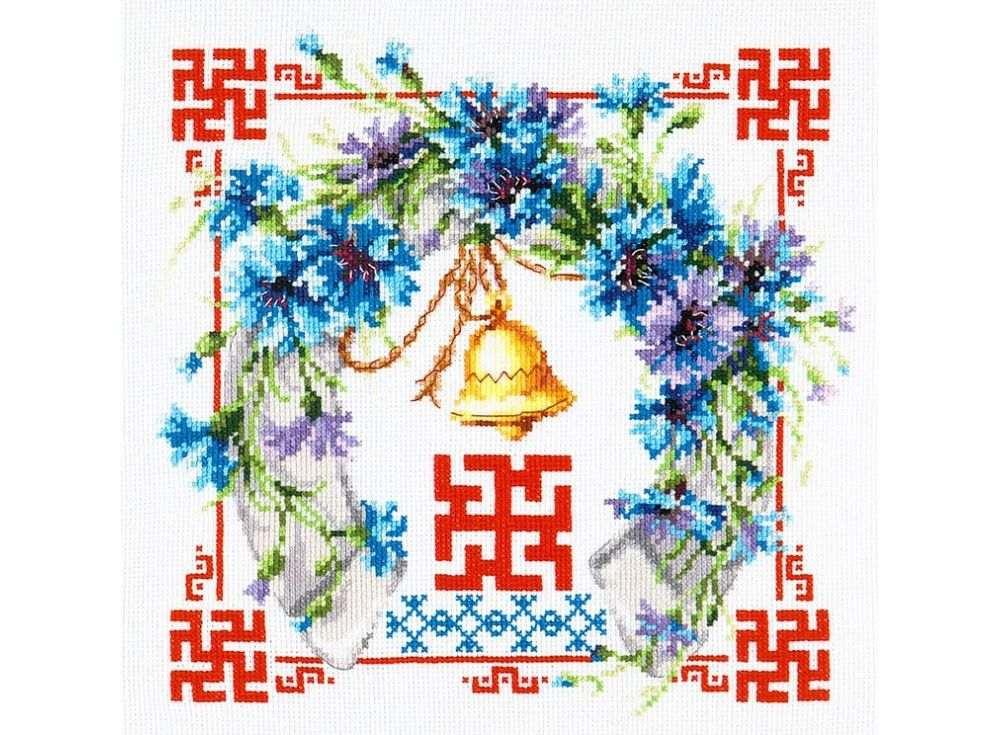 Набор для вышивания «Здоровье и исцеление»Вышивка крестом Чудесная игла<br><br><br>Артикул: 88-07<br>Основа: канва Aida 14 (хлопок)<br>Размер: 26x26 см<br>Техника вышивки: счетный крест<br>Тип схемы вышивки: Цветная схема<br>Цвет канвы: Белый<br>Количество цветов: 31<br>Заполнение: Частичное<br>Игла: №24<br>Рисунок на канве: не нанесён<br>Техника: Вышивка крестом<br>Нитки: Мулине Чудесная игла