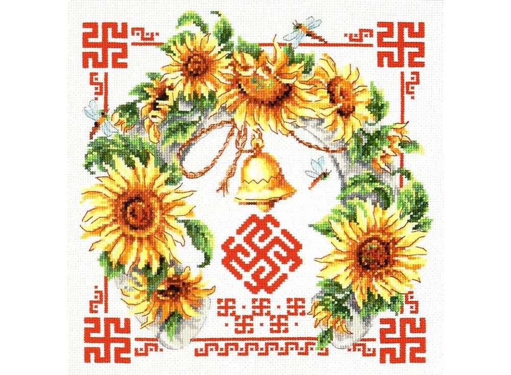 Набор для вышивания «Гармония и взаимопонимание»Вышивка крестом Чудесная игла<br><br><br>Артикул: 88-08<br>Основа: канва Aida 14 (хлопок)<br>Размер: 26x26 см<br>Техника вышивки: счетный крест<br>Тип схемы вышивки: Цветная схема<br>Цвет канвы: Белый<br>Количество цветов: 25<br>Заполнение: Частичное<br>Игла: №24<br>Рисунок на канве: не нанесён<br>Техника: Вышивка крестом<br>Нитки: Мулине Чудесная игла