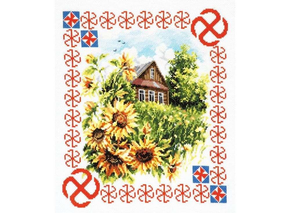 Набор для вышивания «Защита дома»Вышивка крестом Чудесная игла<br><br><br>Артикул: 88-10<br>Основа: канва Aida 14 (хлопок)<br>Размер: 28x23 см<br>Техника вышивки: счетный крест<br>Тип схемы вышивки: Цветная схема<br>Цвет канвы: Белый<br>Количество цветов: 30<br>Заполнение: Частичное<br>Игла: №24<br>Рисунок на канве: не нанесён<br>Техника: Вышивка крестом<br>Нитки: Мулине Чудесная игла