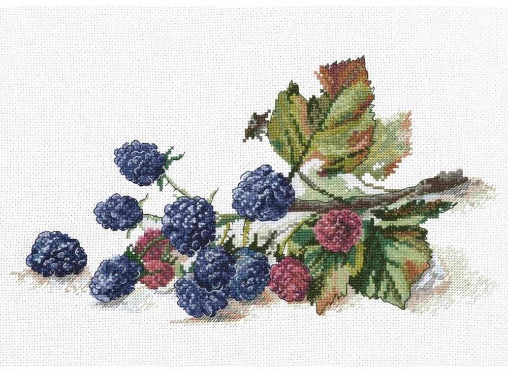 Набор для вышивания «Ветка ежевики»Вышивка крестом Овен<br><br>
