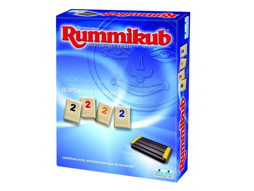 Настольная игра «Rummikub дорожная версия»Настольные логические игры<br>Настольная игра Rummikub выпустила дорожную версию, которая не позволит расставаться с любимой игрой даже в дороге. <br> Цель игры: избавиться от всех своих фишек с цифрами, выкладывая их в различные ряды и группы, набрав тем самым наибольшую сумму оч...<br><br>Артикул: 9680<br>Размер упаковки: 19,3x12,8x4,5 см<br>Возраст: от 7 лет<br>Время игры: 20-60 мин.<br>Количество игроков: 2+<br>Аудитория: Детские
