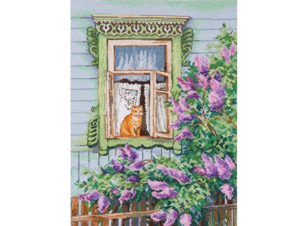 Набор для вышивания «А за окном весна»Вышивка крестом Овен<br><br>