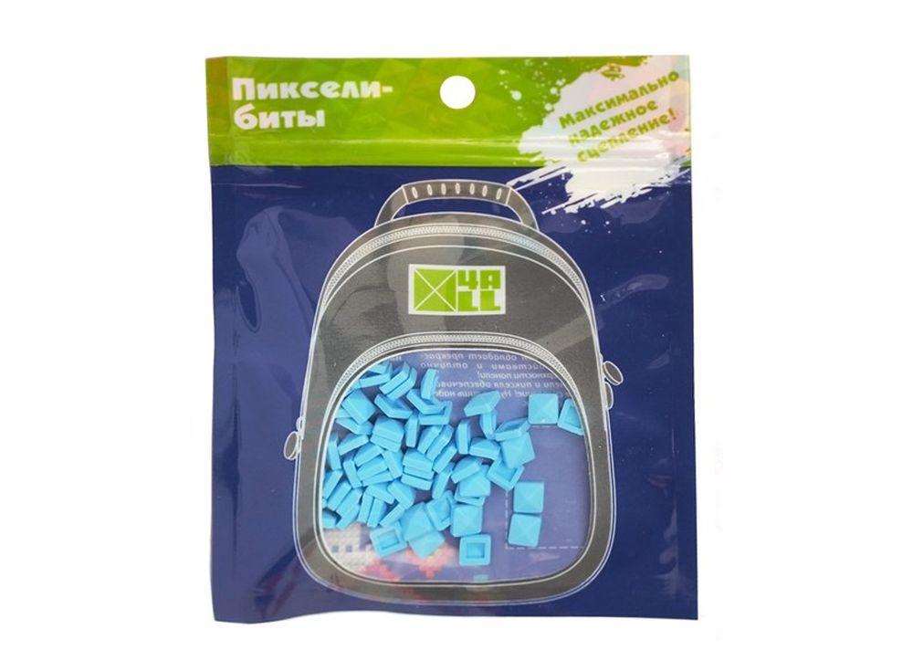 Биты 4ALL Kids голубые, 80 шт.Пиксельные рюкзаки<br><br><br>Артикул: B32-13<br>Размер готовой модели: 6x6 см<br>Цвет: Голубой<br>Серия: 4ALL Kids<br>Материал: Силикон<br>Возраст: от 3 лет<br>Размер битов: Маленькие<br>Количество битов: 80 шт.