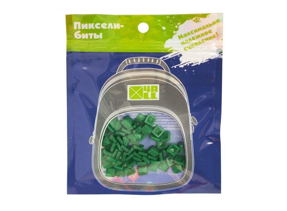 Биты 4ALL Kids темно-зеленые, 80 шт.Пиксельные рюкзаки<br><br><br>Артикул: B32-14<br>Размер готовой модели: 6x6 см<br>Цвет: Темно-зеленый<br>Серия: 4ALL Kids<br>Материал: Силикон<br>Возраст: от 3 лет<br>Размер битов: Маленькие<br>Количество битов: 80 шт.