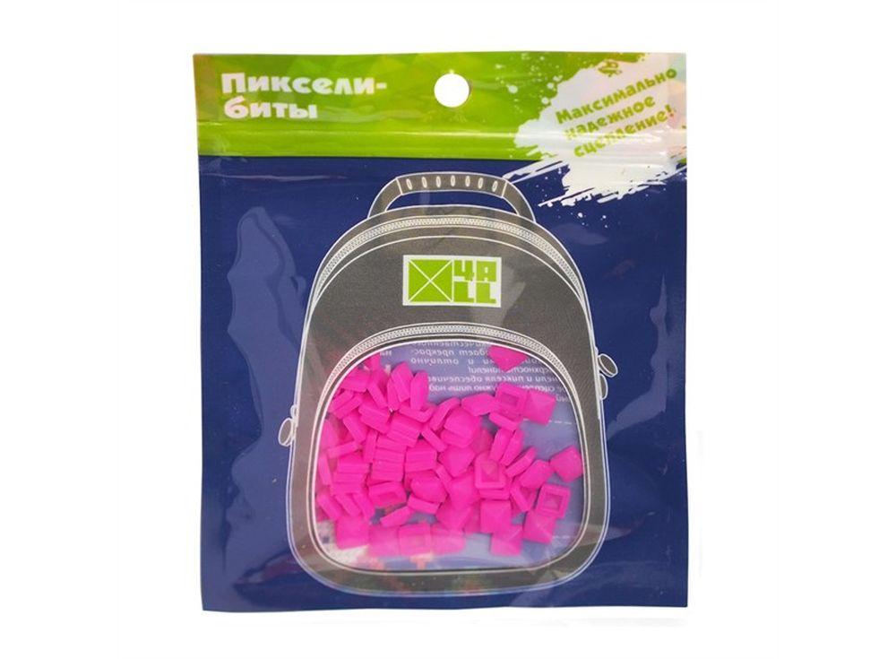 Биты 4ALL Kids ярко-розовые, 80 шт.Пиксельные рюкзаки<br><br><br>Артикул: B32-19<br>Размер готовой модели: 6x6 см<br>Цвет: Ярко-розовый<br>Серия: 4ALL Kids<br>Материал: Силикон<br>Возраст: от 3 лет<br>Размер битов: Маленькие<br>Количество битов: 80 шт.