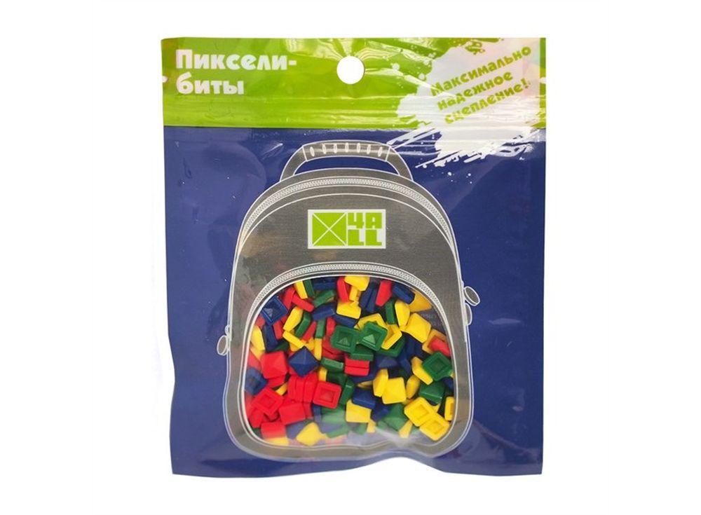 Биты 4ALL Kids разноцветные, 400 шт.Пиксельные рюкзаки<br><br><br>Артикул: B38-84<br>Размер готовой модели: 6x6 см<br>Цвет: Базовый<br>Серия: 4ALL Kids<br>Материал: Силикон<br>Возраст: от 3 лет<br>Размер битов: Маленькие<br>Количество битов: 400 шт.