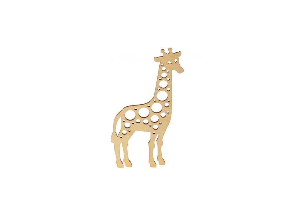Форма для декора «Жирафик»Формы для декора<br><br><br>Артикул: DZ00040<br>Основа: фанера<br>Размер: 67x120 /толщина 3 мм<br>Упаковка: пакет