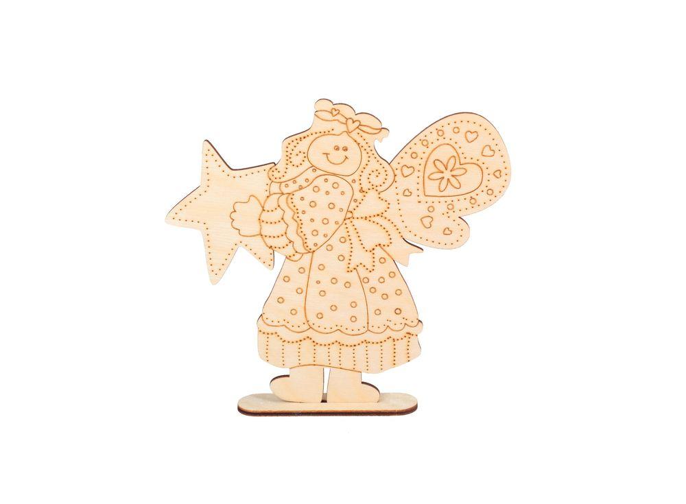 Форма для декора на подставке «Счастливая звезда»Формы для декора<br><br><br>Артикул: DZ10029<br>Основа: фанера<br>Размер: 160x152/толщина 3 мм<br>Упаковка: пакет<br>Размер упаковки: 24x16x0,5 см