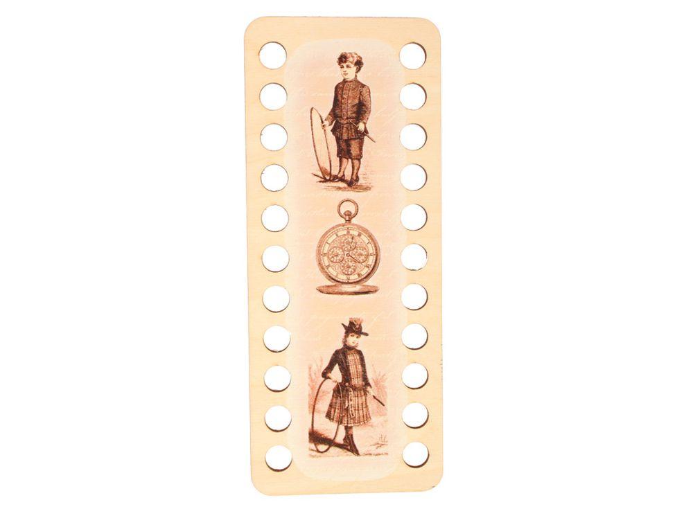 Органайзер для ниток (22 ячейки)Аксессуары для вышивки<br><br><br>Артикул: DZ31013<br>Основа: фанера с нанесенным рисунком<br>Размер: 220x90/толщина 3 мм