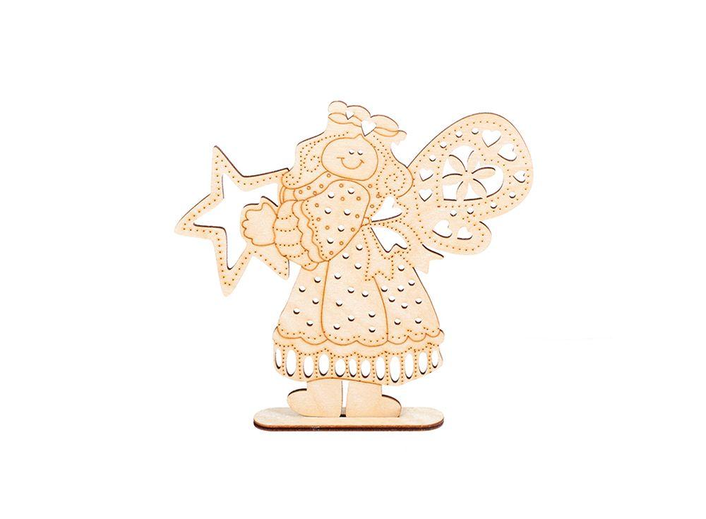 Декоративная форма на подставке «Счастливая звезда»Формы для декора на подставке<br><br><br>Артикул: DZ50011<br>Основа: фанера<br>Размер: 162x152/толщина 3 мм<br>Упаковка: пакет<br>Размер упаковки: 16,5x15,5x 0,5 см
