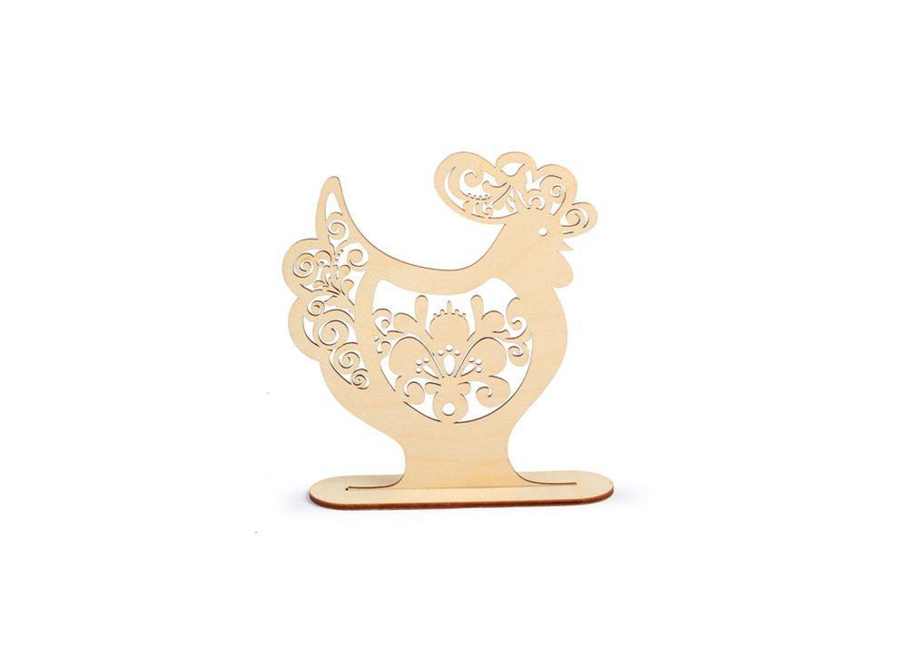 Декоративная форма на подставке «Петух с цветочным ажуром»Формы для декора на подставке<br><br><br>Артикул: DZ50019<br>Основа: фанера<br>Размер: 151x172/толщина 3 мм<br>Упаковка: пакет