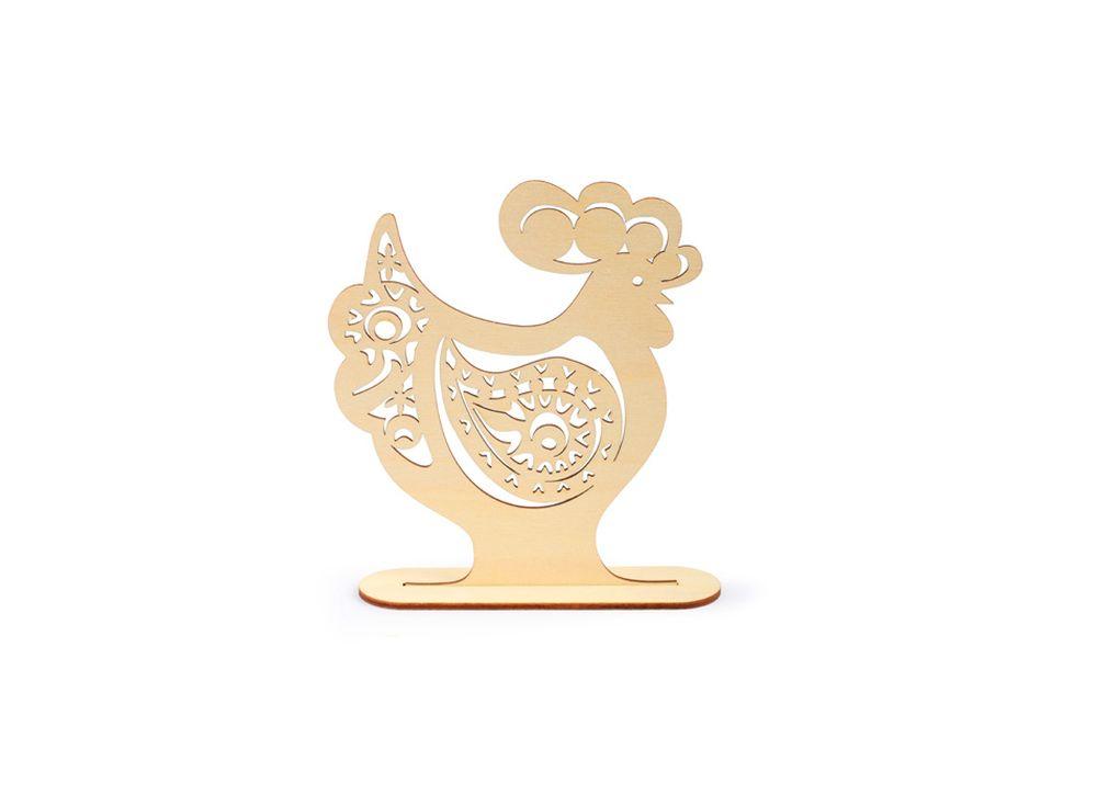 Декоративная форма на подставке «Петух с орнаментом пейсли»Формы для декора на подставке<br><br><br>Артикул: DZ50020<br>Основа: фанера<br>Размер: 151x170/толщина 3 мм<br>Упаковка: пакет