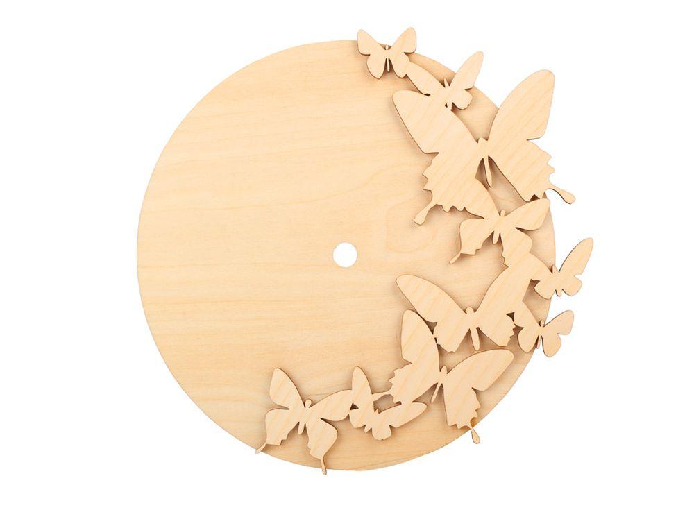 Форма для декора «Кружение»Заготовки для часов<br><br><br>Артикул: DZ60005<br>Основа: фанера<br>Размер: 247x241/толщина 4 мм<br>Упаковка: пакет