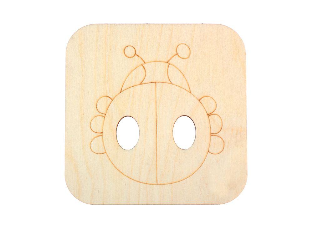 Декоративная плитка «Божья коровка»Декоративные плитки<br><br><br>Артикул: DZ70001<br>Основа: фанера<br>Размер: 120x120/толщина 3 мм<br>Упаковка: пакет