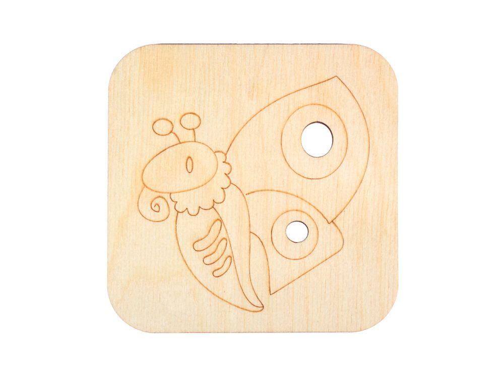 Декоративная плитка «Бабочка»Декоративные плитки<br><br><br>Артикул: DZ70004<br>Основа: фанера<br>Размер см: 120x120/толщина 3 мм<br>Упаковка: пакет