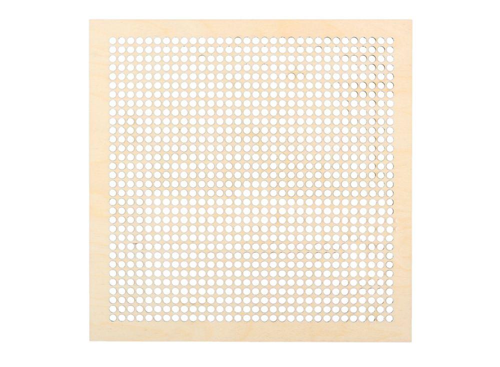 Декоративная плитка с перфорацией для вышивкиДекоративные плитки<br><br><br>Артикул: DZ70011<br>Основа: фанера<br>Размер: 170x170/толщина 3 мм