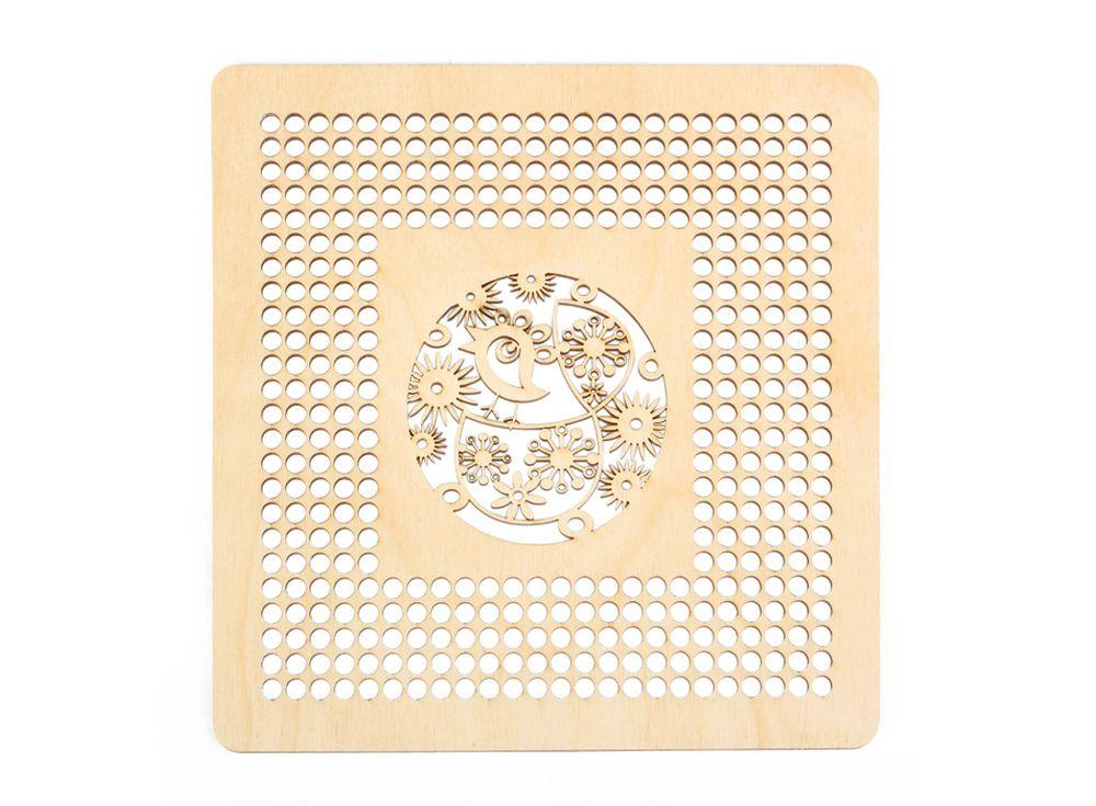 Декоративная плитка с перфорацией для вышивкиДекоративные плитки<br><br><br>Артикул: DZ70017<br>Основа: фанера<br>Размер: 170x170/толщина 3 мм