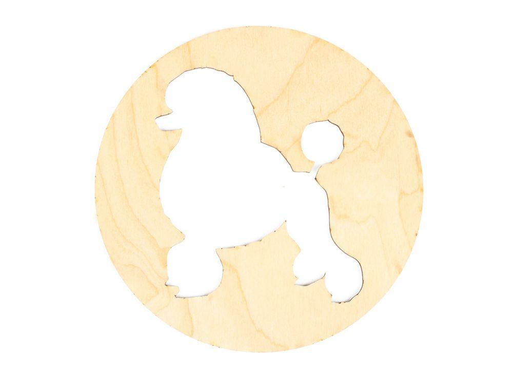 Декоративная плитка «Королевский пудель»Декоративные плитки<br><br><br>Артикул: DZ70035<br>Основа: фанера<br>Размер: 150x150/толщина 3 мм<br>Упаковка: пакет