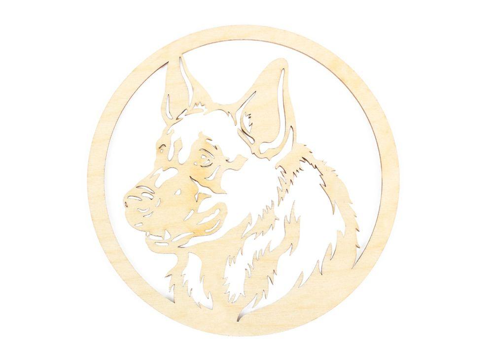 Декоративная форма «Собачья медаль»Формы для декора<br><br><br>Артикул: DZ70046<br>Основа: фанера<br>Размер: 150x150/толщина 3 мм<br>Упаковка: пакет