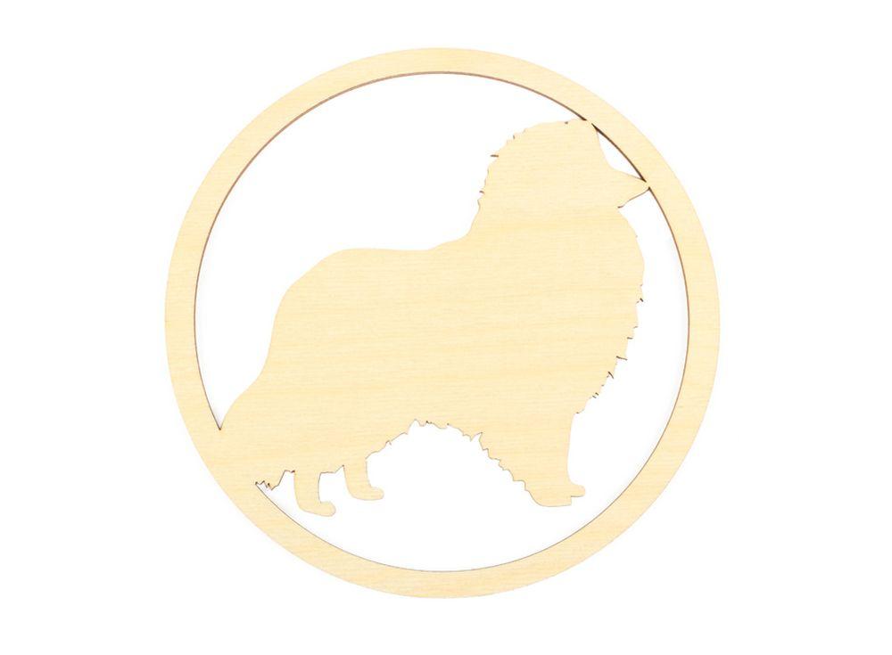 Форма для декора «Силуэт собаки»Формы для декора<br><br><br>Артикул: DZ70052<br>Основа: фанера<br>Размер: 150x150/толщина 3 мм<br>Упаковка: пакет