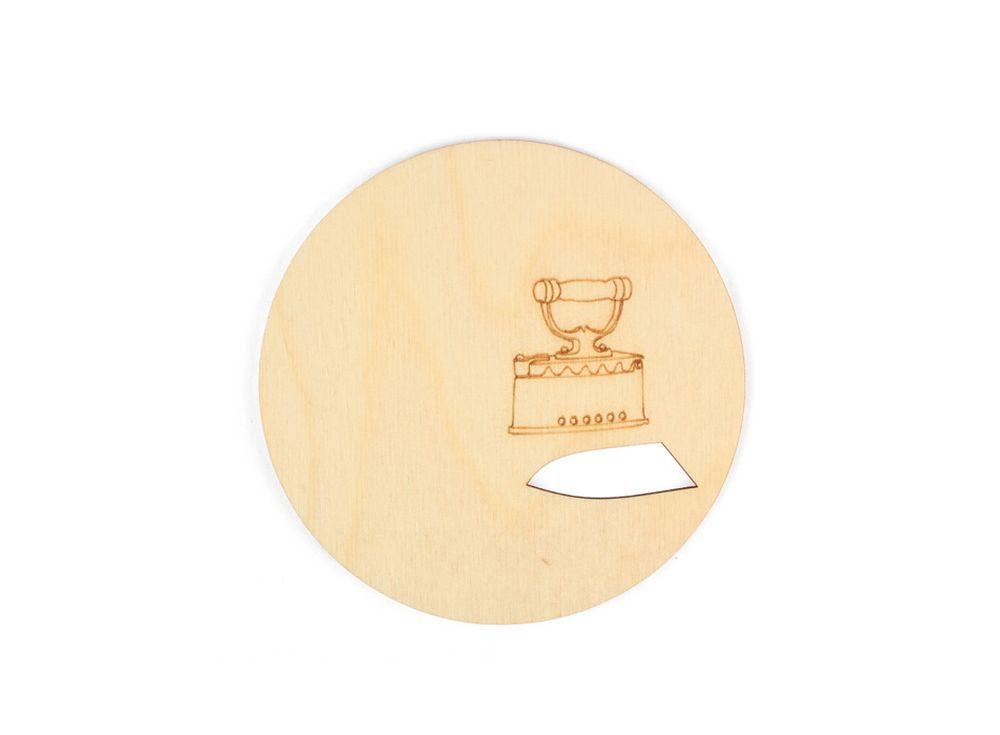 Подставка «Не сожги»Декоративные подставки<br><br><br>Артикул: DZ72009<br>Основа: фанера<br>Размер: 100х100/толщина 3 мм<br>Упаковка: пакет