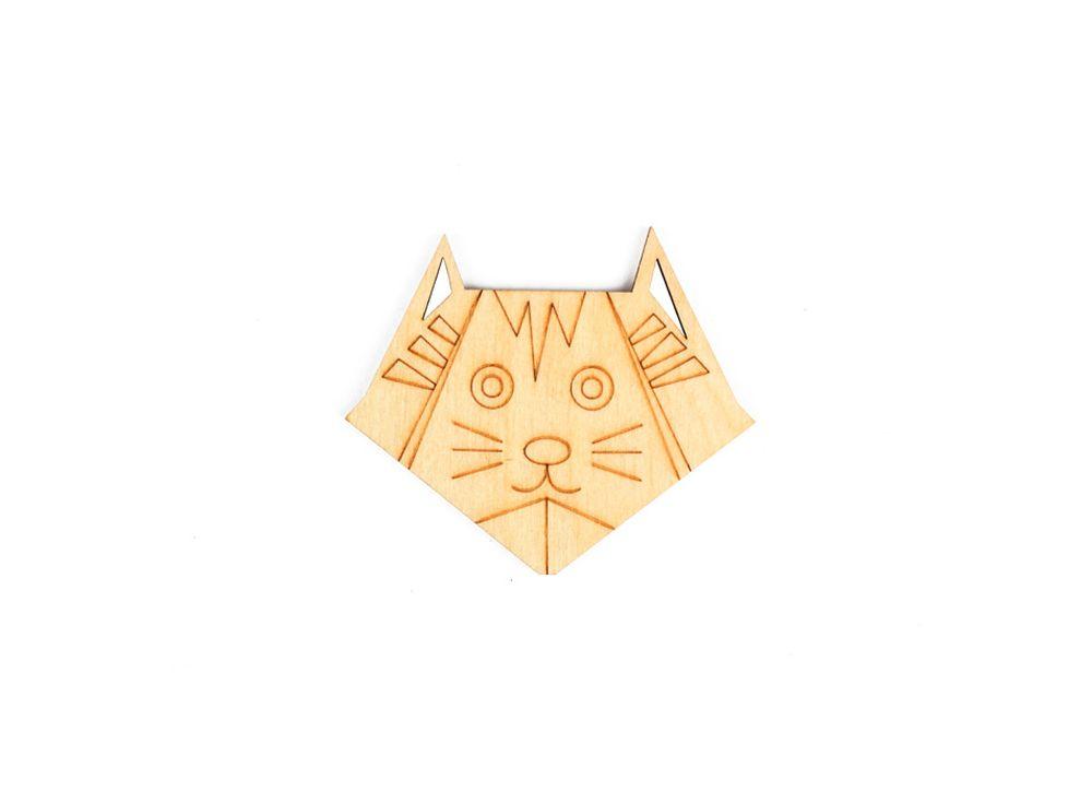 Форма для декора «Оригами-кот»Формы для декора<br><br><br>Артикул: DZ80004<br>Основа: фанера<br>Размер см: 70x60/толщина 3 мм<br>Упаковка: пакет