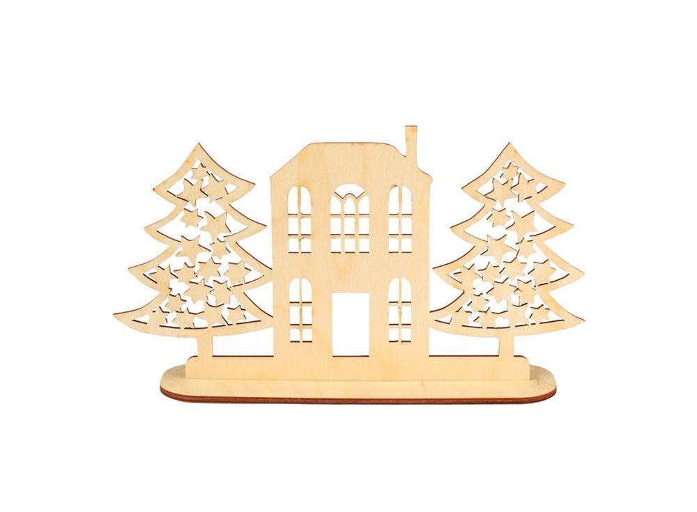 Декоративная форма на подставке «Улица»Формы для декора на подставке<br><br><br>Артикул: DZ90029<br>Основа: фанера<br>Размер см: 223x124/толщина 3 мм<br>Упаковка: пакет