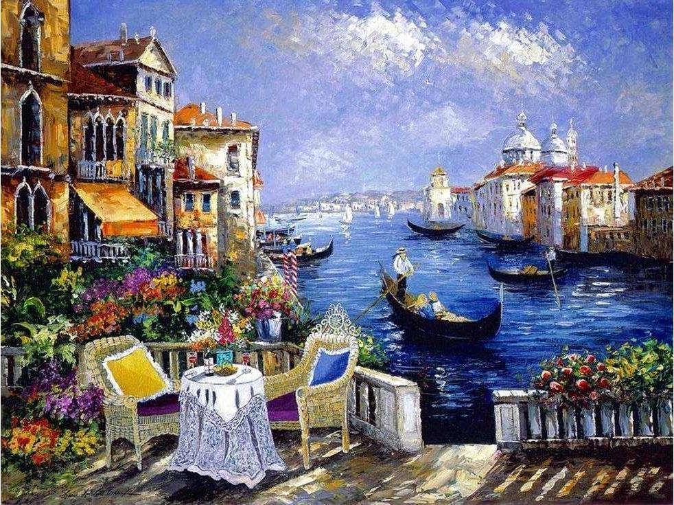 «Венецианское кружево» Шери Хатчет БолманPaintboy (Premium)<br><br><br>Артикул: GX3626<br>Основа: Холст<br>Сложность: сложные<br>Размер: 40x50 см<br>Количество цветов: 25<br>Техника рисования: Без смешивания красок