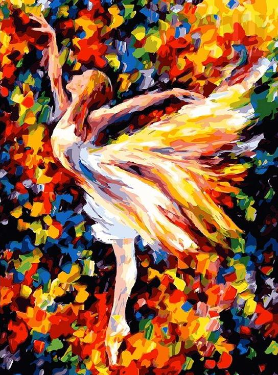 «Балет» Леонида АфремоваPaintboy (Premium)<br><br><br>Артикул: GX4081<br>Основа: Холст<br>Сложность: сложные<br>Размер: 40x50 см<br>Количество цветов: 25<br>Техника рисования: Без смешивания красок