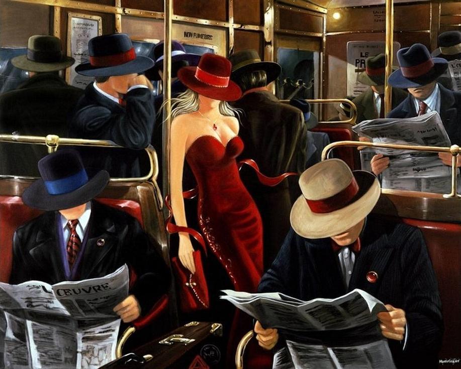 «Шикарной женщины неуловимый взгляд» Виктора ОстровскогоPaintboy (Premium)<br><br><br>Артикул: GX4113<br>Основа: Холст<br>Сложность: сложные<br>Размер: 40x50 см<br>Количество цветов: 25<br>Техника рисования: Без смешивания красок