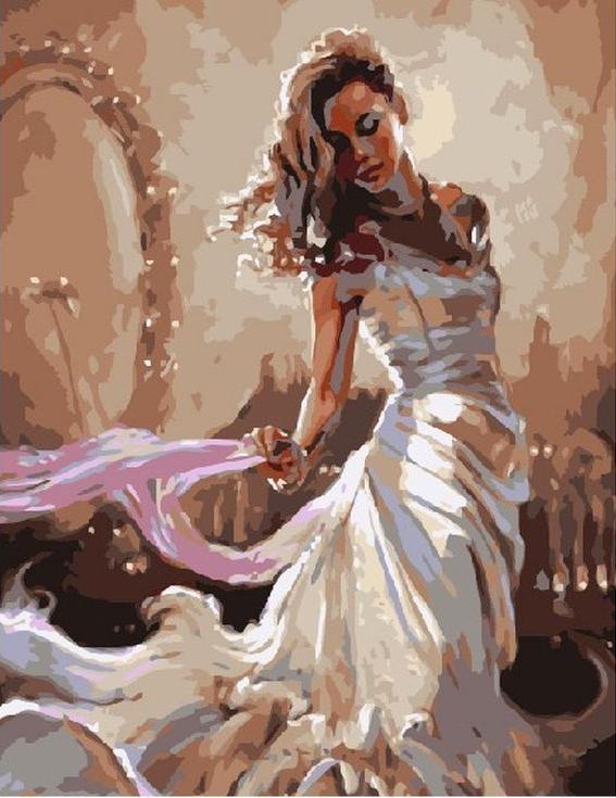 «Красота» Марка СпейнаPaintboy (Premium)<br><br><br>Артикул: GX8119<br>Основа: Холст<br>Сложность: сложные<br>Размер: 40x50 см<br>Количество цветов: 25<br>Техника рисования: Без смешивания красок