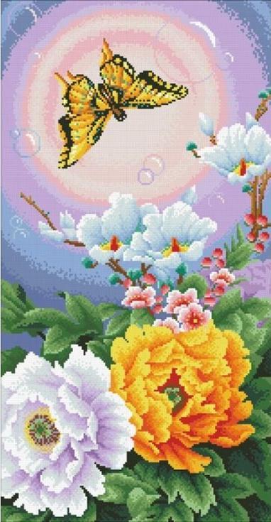Стразы «Настроение счастья»Алмазная вышивка Паутинка<br><br><br>Артикул: М-213<br>Основа: Холст без подрамника<br>Сложность: сложные<br>Размер: 35x67 см<br>Выкладка: Полная<br>Количество цветов: 37<br>Тип страз: Квадратные