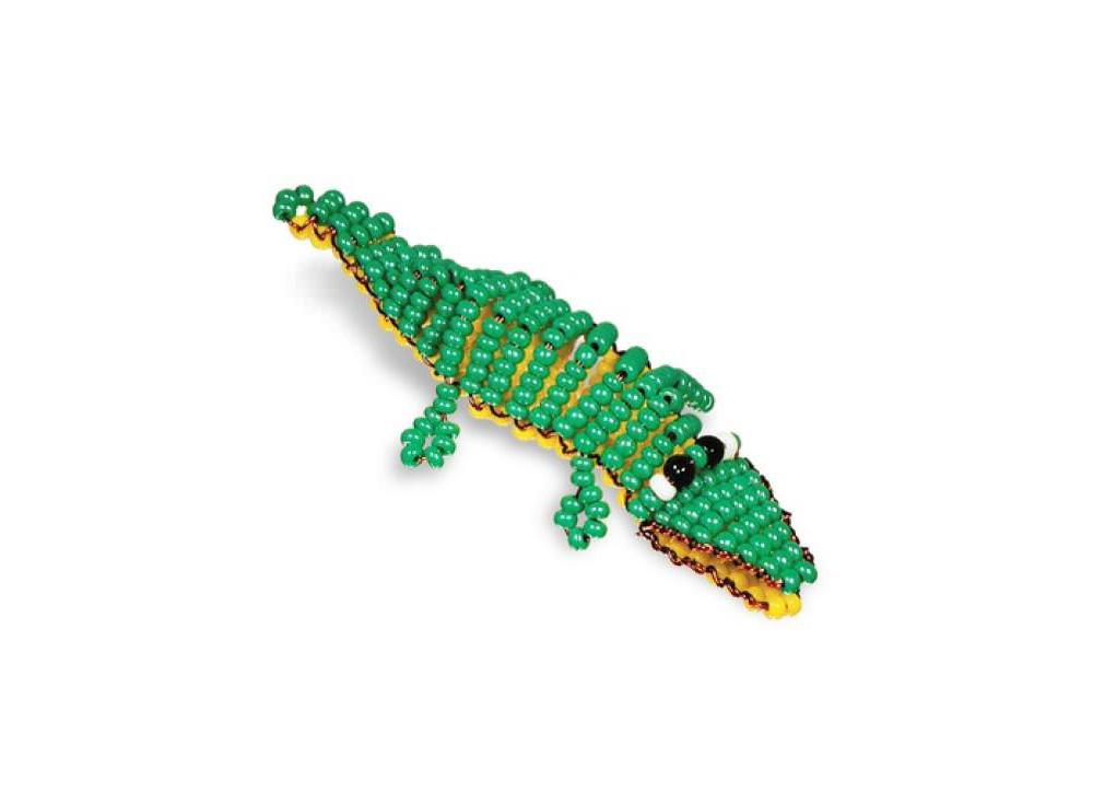 Набор для бисероплетения «Игрушка Крокодил»Бисероплетение Кроше<br><br><br>Артикул: А-029<br>Техника вышивки: бисероплетение<br>Тип схемы вышивки: Цветная схема<br>Техника: Бисероплетение