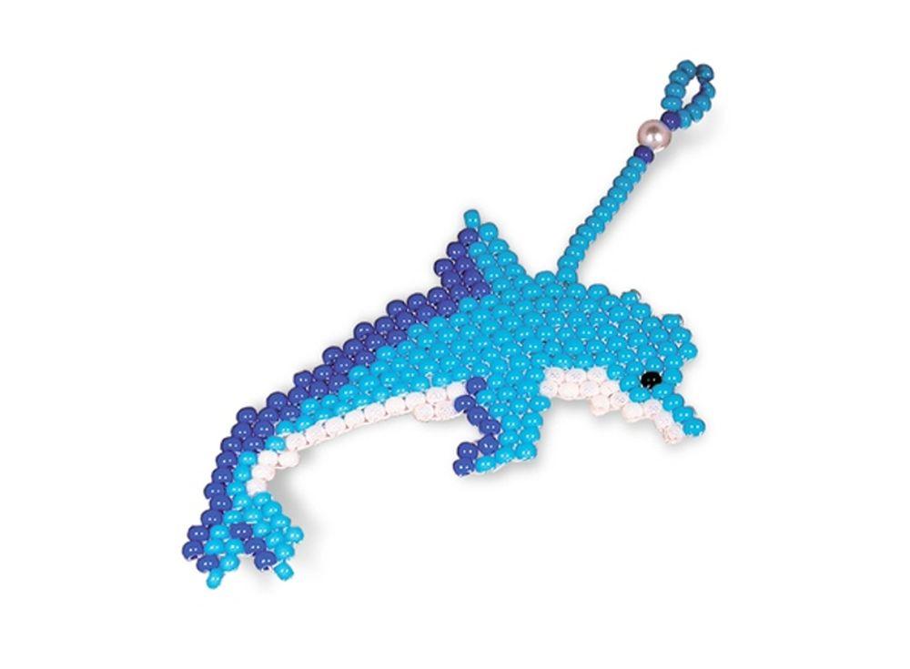 Набор для бисероплетения «Брелок Дельфин»Бисероплетение Кроше<br><br><br>Артикул: А-062<br>Техника вышивки: бисероплетение<br>Тип схемы вышивки: Цветная схема<br>Техника: Бисероплетение