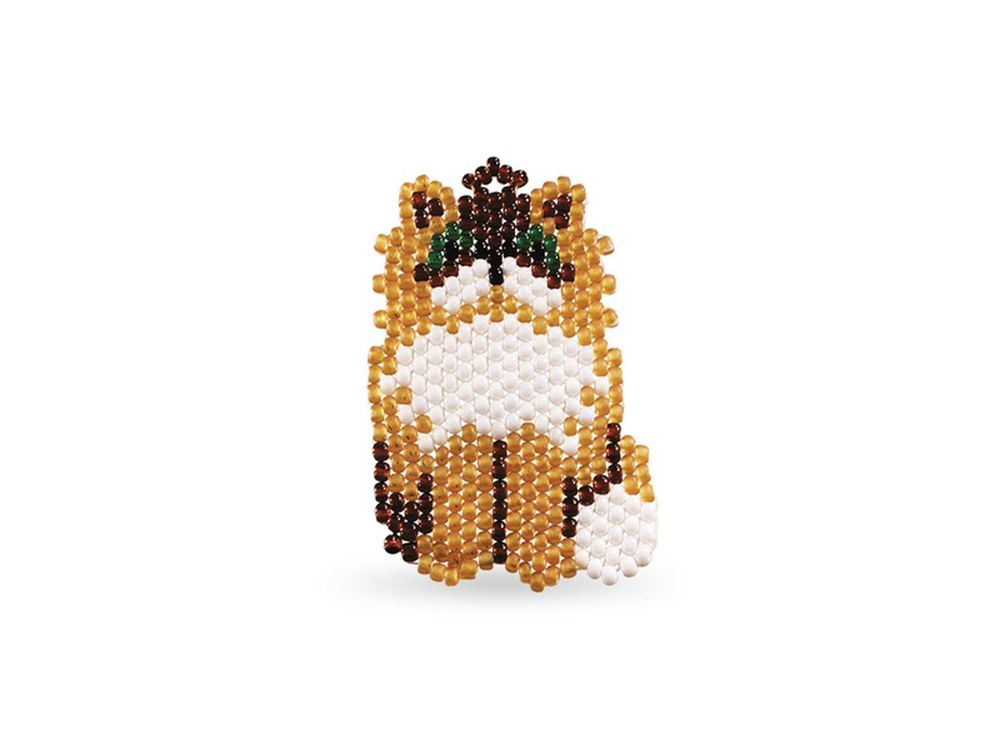 Набор для бисероплетения «Брелок Кот персидский»Бисероплетение Кроше<br><br><br>Артикул: А-066<br>Техника вышивки: бисероплетение<br>Тип схемы вышивки: Цветная схема<br>Техника: Бисероплетение
