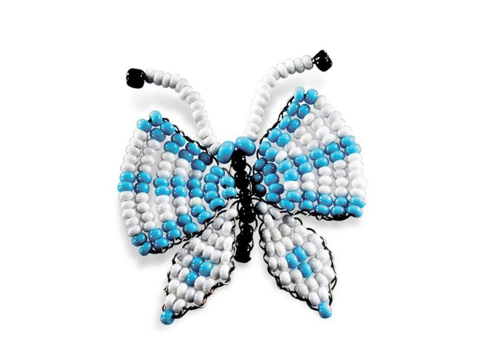 Набор для бисероплетения «Игрушка Бабочка»Бисероплетение Кроше<br><br><br>Артикул: А-072<br>Техника вышивки: бисероплетение<br>Тип схемы вышивки: Цветная схема<br>Техника: Бисероплетение