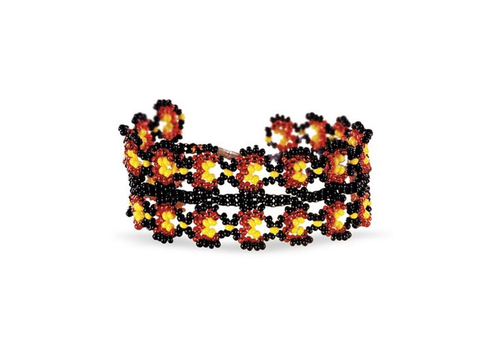 Набор для бисероплетения «Браслет Лаура»Бисероплетение Кроше<br><br><br>Артикул: А-092<br>Техника вышивки: бисероплетение<br>Тип схемы вышивки: Цветная схема<br>Техника: Бисероплетение