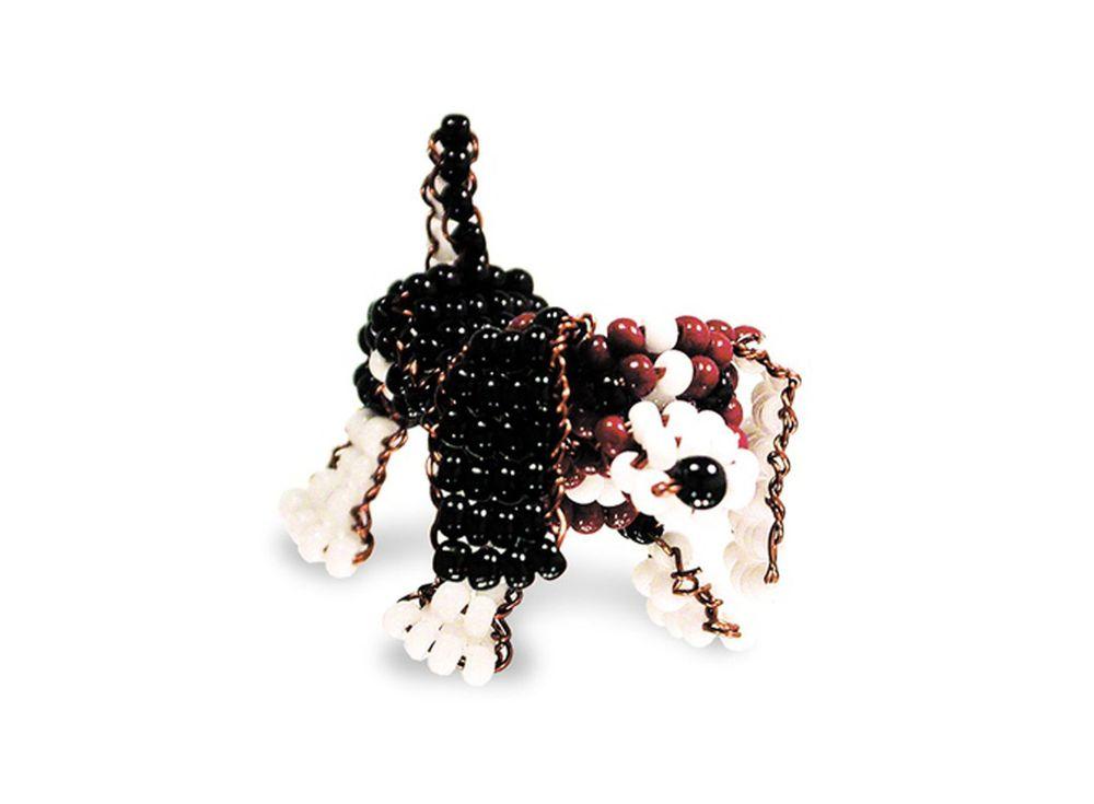 Набор для бисероплетения «Игрушка Бассет»Бисероплетение Кроше<br><br><br>Артикул: А-108<br>Техника вышивки: бисероплетение<br>Тип схемы вышивки: Цветная схема<br>Техника: Бисероплетение