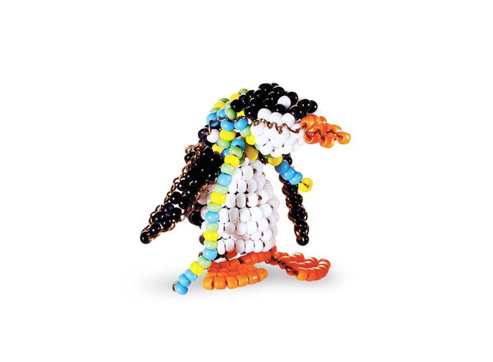 Набор для бисероплетения «Игрушка Пингвин»Бисероплетение Кроше<br><br><br>Артикул: А-115<br>Техника вышивки: бисероплетение<br>Тип схемы вышивки: Цветная схема<br>Техника: Бисероплетение