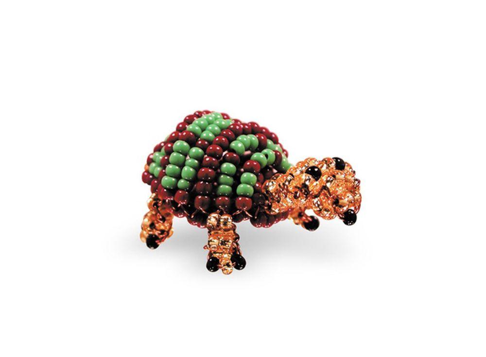 Набор для бисероплетения «Игрушка Черепаха»Бисероплетение Кроше<br><br><br>Артикул: А-119<br>Техника вышивки: бисероплетение<br>Тип схемы вышивки: Цветная схема<br>Техника: Бисероплетение