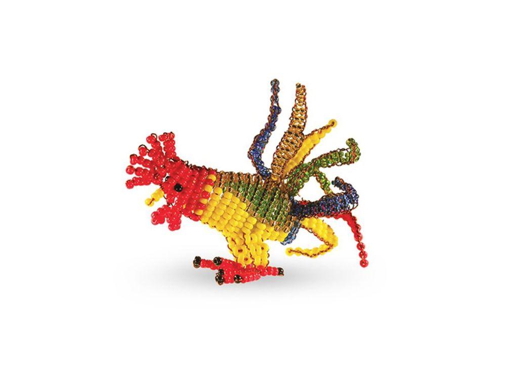 Набор для бисероплетения «Игрушка Петух»Бисероплетение Кроше<br><br><br>Артикул: А-120<br>Техника вышивки: бисероплетение<br>Тип схемы вышивки: Цветная схема<br>Техника: Бисероплетение