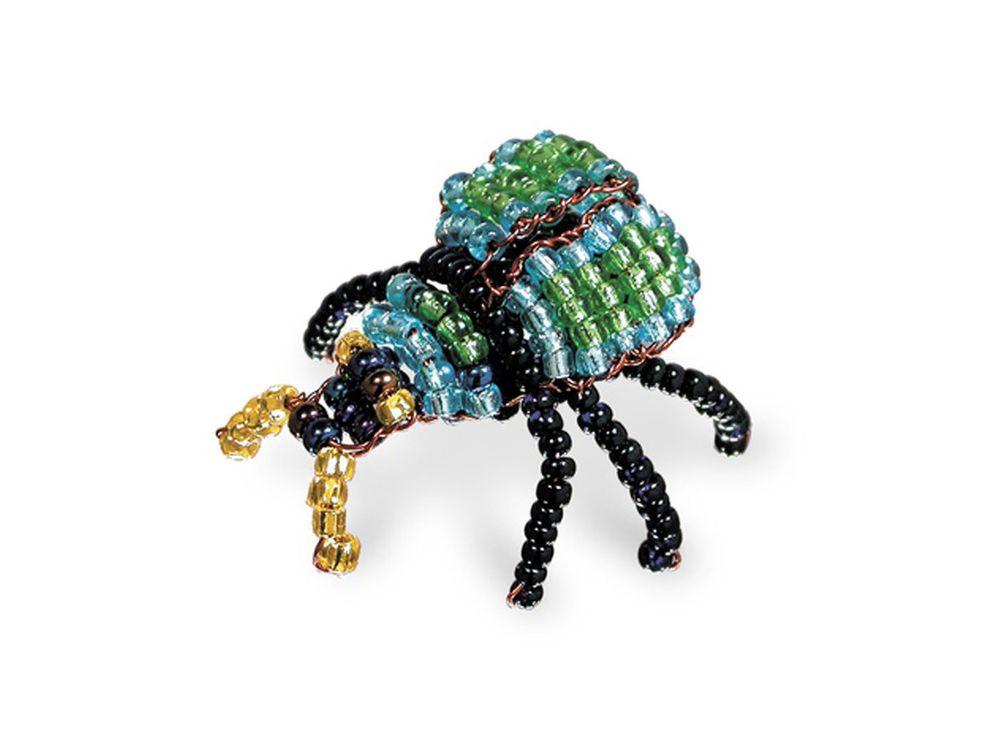 Набор для бисероплетения «Игрушка Майский жук»Бисероплетение<br><br>