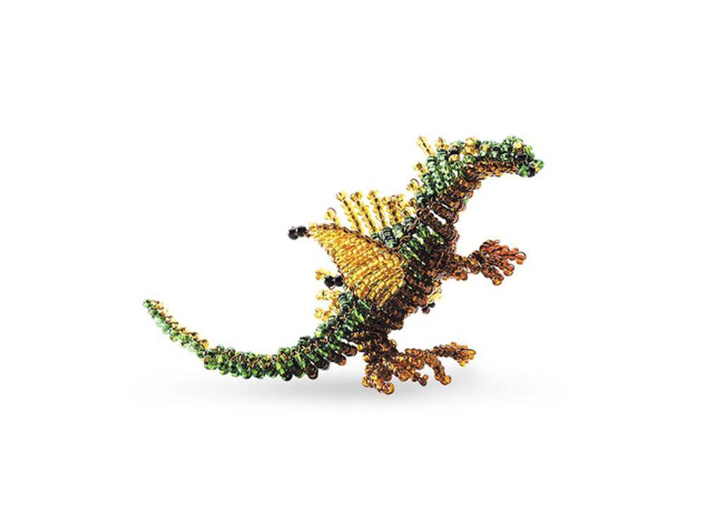 Набор для бисероплетения «Игрушка Дракон»Бисероплетение Кроше<br><br><br>Артикул: А-135<br>Техника вышивки: бисероплетение<br>Тип схемы вышивки: Цветная схема<br>Техника: Бисероплетение