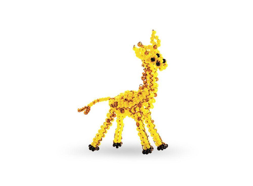 Набор для бисероплетения «Игрушка Жираф»Бисероплетение Кроше<br><br><br>Артикул: А-136<br>Техника вышивки: бисероплетение<br>Тип схемы вышивки: Цветная схема<br>Техника: Бисероплетение