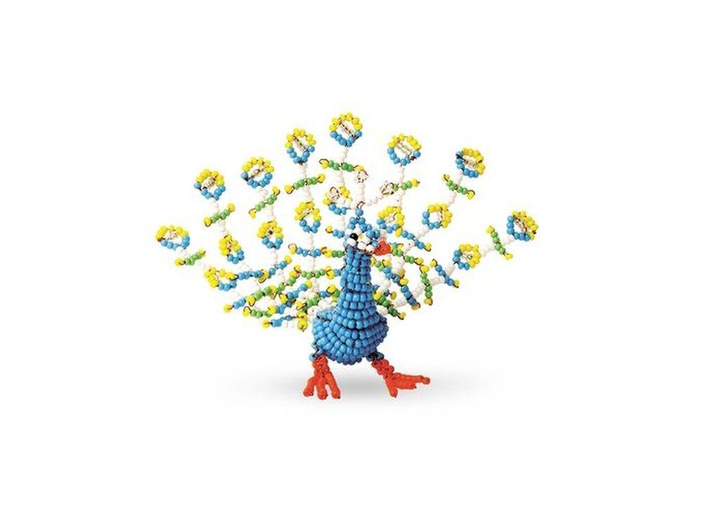 Набор для бисероплетения «Игрушка Павлин»Бисероплетение Кроше<br><br><br>Артикул: А-141<br>Техника вышивки: бисероплетение<br>Тип схемы вышивки: Цветная схема<br>Техника: Бисероплетение