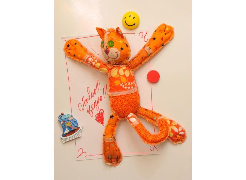 Набор для шитья «Мартовский кот»Наборы для шитья игрушек<br><br><br>Артикул: ПМ-801<br>Основа: Текстиль<br>Сложность: средние<br>Размер: Высота: 38 см<br>Серия: Мартовская<br>Техника: Шитье<br>Размер упаковки: 15x23 см<br>Возраст: от 10 лет